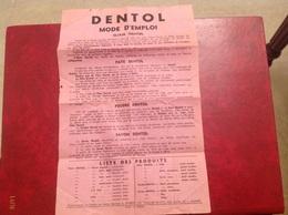 Dentol - Vieux Papiers