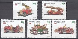BENIN 2001 Fire Truck MNH - Benin – Dahomey (1960-...)