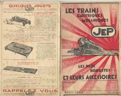 CATALOGUE-JOUETS-JEP-TRAINS-ELECTRIQUES-MECANIQUES-LOCO-WAGONS-ACCESSOIRES-RAILS-AIGUILLAGES- - Model Making