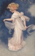 Carte En Relief Circulée En 1904 - Portraits