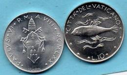 VATICAN  10 Lire 1970  KM#119 - Vatican
