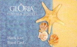 TURCHIA KEY  HOTEL Gloria Hotels & Resorts - Hotelkarten