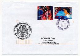 "POLYNESIE FRANCAISE - Enveloppe Avec Oblitération ""Centre Philatélique MAHINA-TAHITI"" 3-11-2011 - French Polynesia"