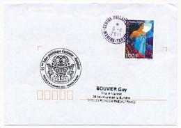 """POLYNESIE FRANCAISE - Enveloppe Avec Oblitération """"Centre Philatélique MAHINA-TAHITI"""" 3-11-2011 - Lettres & Documents"""
