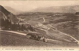 Route De SASSENAGE à VILLARD DE LANS - La Vallée  97 - Villard-de-Lans