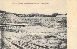 Travaux De Bouillouses (Pyrénées Orientales) - Le Barrage - Edition Brun - Carte N° 1387 Non Circulée - France