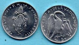 VATICAN  5 Lire 1977  KM#118 - Vaticaanstad