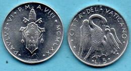 VATICAN  5 Lire 1970  KM#118 - Vaticaanstad