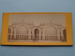 Gare Du NORD - Paris ( Stereo Photo ) ( La France ) ! - Photos Stéréoscopiques
