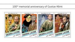 SIERRA LEONE 2018   Gustav Klimt  S201807 - Sierra Leone (1961-...)