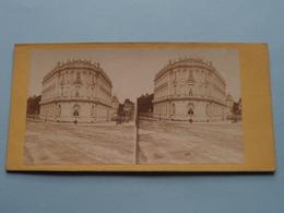 Cercle Agricole - Paris ( Stereo Photo ) ( La France ) ! - Photos Stéréoscopiques