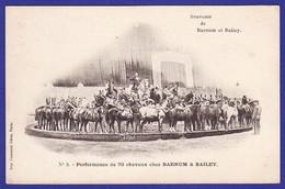 Cirque Barnum Bailey Performance Avec 70 Chevaux ( Très Très Bon état ) 8070) - Cirque
