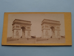 Arc De L'Etoile - Paris ( Stereo Photo ) ( La France ) ! - Photos Stéréoscopiques