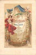 Chromolitho - Cathéchisme De Malines - Mechelen - Moulin - Engelman Paris - Hendrickx - Lithographies