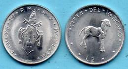 VATICAN  2 Lire 1972  KM#117 - Vatican