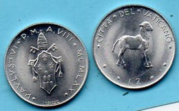 VATICAN  2 Lire 1970  KM#117 - Vatican