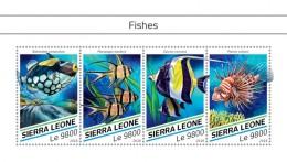 SIERRA LEONE 2018  Fishes S201807 - Sierra Leone (1961-...)