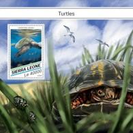 SIERRA LEONE 2018  Turtles S201807 - Sierra Leone (1961-...)