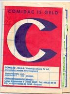 Pub Reclame - Zegelboekje - Carnet Timbres Comidac - Gent - Pubblicitari
