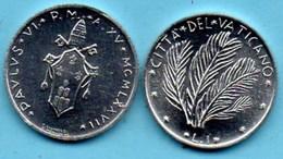 VATICAN  1 Lira 1977  KM#116 - Vaticaanstad