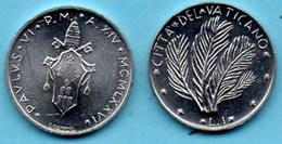 VATICAN  1 Lira 1976  KM#116 - Vatican