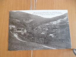 CPA 30 Gard Mines De Villemagne Par Trèves Vue D'ensemble De L'ancien Village Et De La Nouvelle Laverie  TBE - Autres Communes