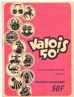 Pub Reclame - Zegelboekje - Carnet Timbres Valois - Publicité