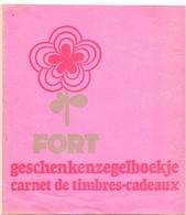 Pub Reclame - Zegelboekje Geschenken - Carnet De Timbres Cadeaux - FORT - Publicité