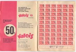Pub Reclame - Zegelboekje Geschenken - Carnet De Timbres Cadeaux - Valois - Publicité