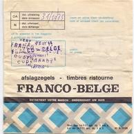Pub Reclame - Zegelboekje  - Carnet De Timbres Ristourne - Franco Belge - Publicité