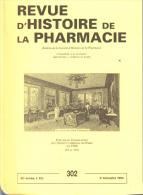 Revue D'histoire De La Pharmacie  302 - Health