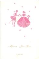 Menu - Mariage Huwelijk  Myriam X Jean Pierre - 17 Mei 1969 - Publicité