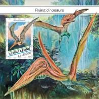 SIERRA LEONE 2018  Flying Dinosaurs S201807 - Sierra Leone (1961-...)