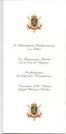 Lijst Hofleveranciers Koningshuis Belgie - Liste Fournisseurs De La Cour De Belgique - Roi Albert & Paola - 1998 - Autres Collections