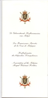 Lijst Hofleveranciers Koningshuis Belgie - Liste Fournisseurs De La Cour De Belgique - Roi Albert & Paola - 1998 - Andere Verzamelingen