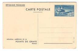 6435 - MEMORIAL AMERICAIN - Postal Stamped Stationery