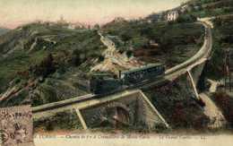 LA TURBIE  Chemin De Fer à Crémaillère De Monte Carlo Le Grand Cintre RV - La Turbie