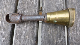 Rare Pistolet D'abattage De Bétail Vintage Fin 19e Début 20e - Tools