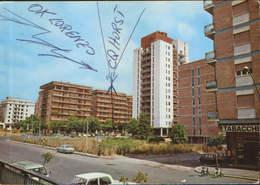 Italia - Postcard Used Written QSL -  Aprilia - John XXIII Street   - 2/scans - Aprilia