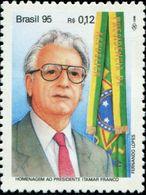 BX0863 Brazil 1995 President And Flag 1V MNH - Brasilien