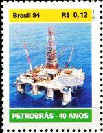 BX0865 Brazil 1994 Offshore Exploration Oil 1V MNH - Brasilien