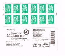 Marianne Engagée - LV - Daté 02.05.18 - Carnets