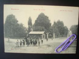 WAREMME : Porte De Liège (arrêt Du Tram) En 1908 - Waremme
