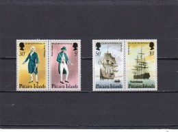 Pitcairn Nº 154 Al 157 - Sellos