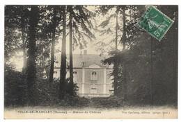 80 VILLE Le Marclet CPA Avenue Du Chateau - France