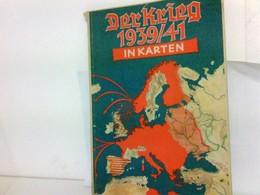 Der Krieg 1939/41 In Karten - Militär & Polizei