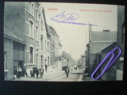WAREMME : Rue Neuve Et Rue Sous Le Château  En 1908 - Borgworm