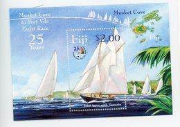 Fidji 2004-Course à La Voile-joint Issue Avec Vanuatu-B46***MNH - Schiffe