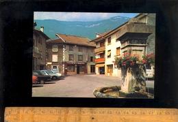 LE TOUVET Isère 38 : La Place De L'église Fontaine Hotel Du Grand Saint St Jacques  1987 - France