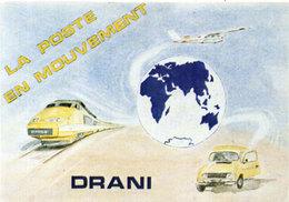"""La Poste En Mouvement """"DRANI"""" - TGV Postal  (106985) - Trains"""